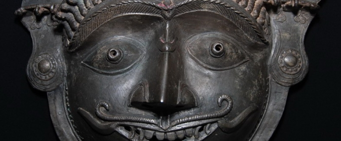 Smiling Bhuta Mask (IBW050)