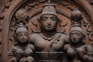 Vishnu Wood Carving (IBH343)